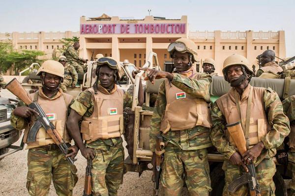 militairen BF in Mali
